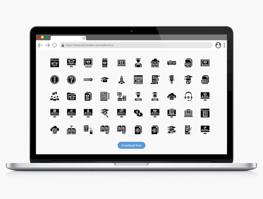 25xt-484001 Online Learning Icons3.jpg
