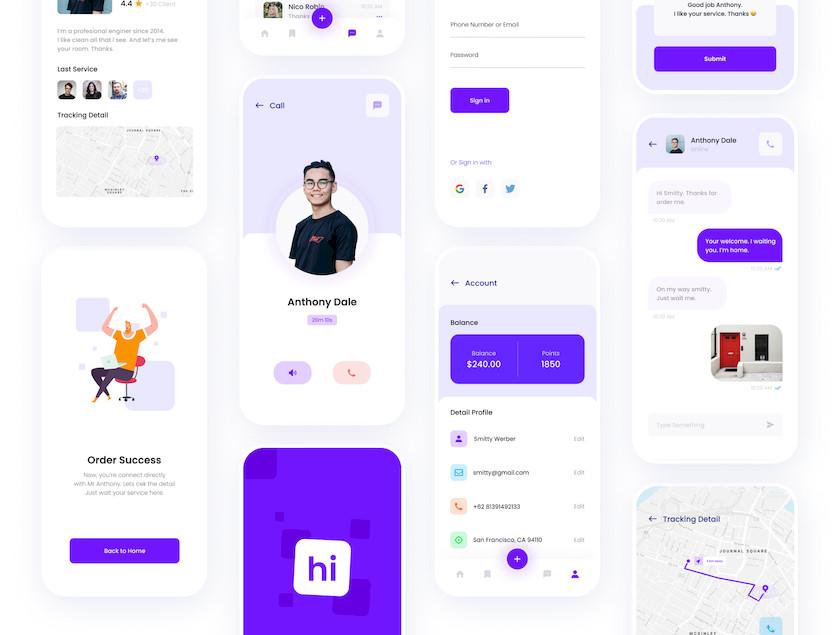 Hi - Social Service App UI KIT 4.jpg